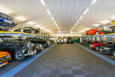 Car storage in Central London